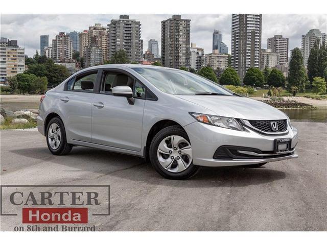 2015 Honda Civic LX (Stk: 3J98521) in Vancouver - Image 1 of 27