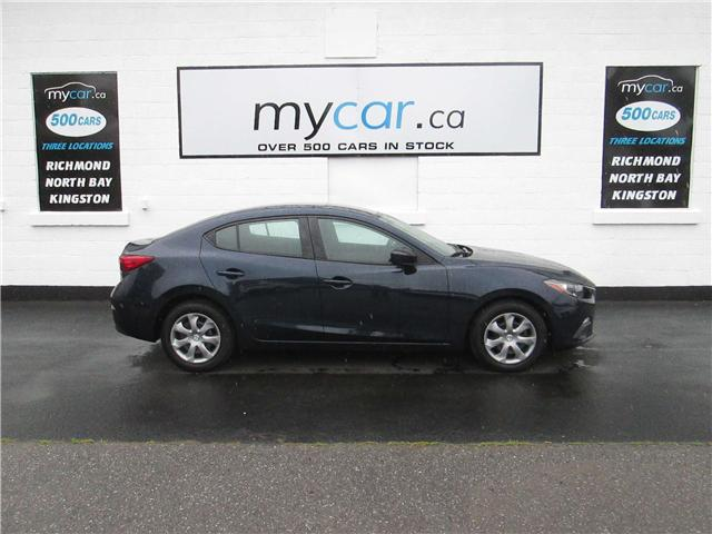 2015 Mazda Mazda3 GX (Stk: 180420) in Kingston - Image 1 of 13
