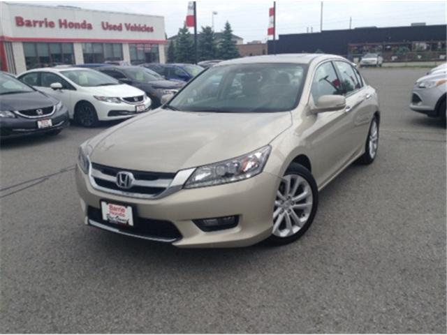 2014 Honda Accord Touring V6 (Stk: U14671) in Barrie - Image 1 of 26