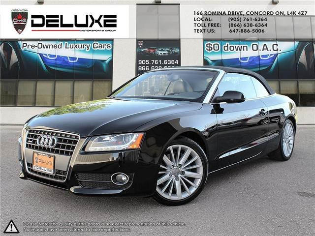 2010 Audi A5 2.0T (Stk: D0394) in Concord - Image 1 of 19