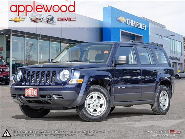 2016 Jeep Patriot Sport/North (Stk: 4225TN) in Mississauga - Image 1 of 26