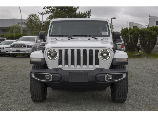 2018 Jeep Wrangler Unlimited Sahara (Stk: J174874) in Abbotsford - Image 2 of 27