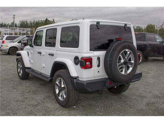 2018 Jeep Wrangler Unlimited Sahara (Stk: J174874) in Abbotsford - Image 5 of 27
