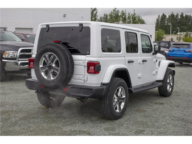 2018 Jeep Wrangler Unlimited Sahara (Stk: J174874) in Abbotsford - Image 7 of 27