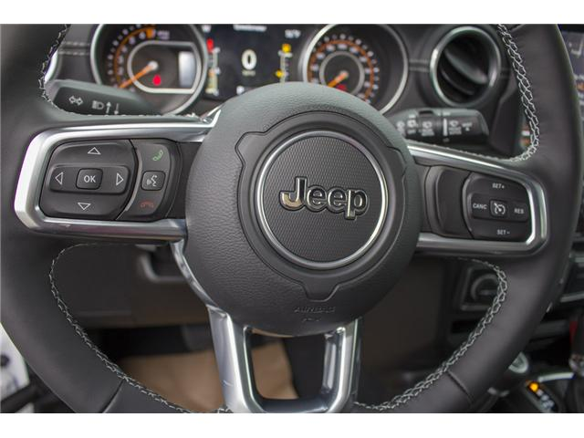 2018 Jeep Wrangler Unlimited Sahara (Stk: J174874) in Abbotsford - Image 20 of 27