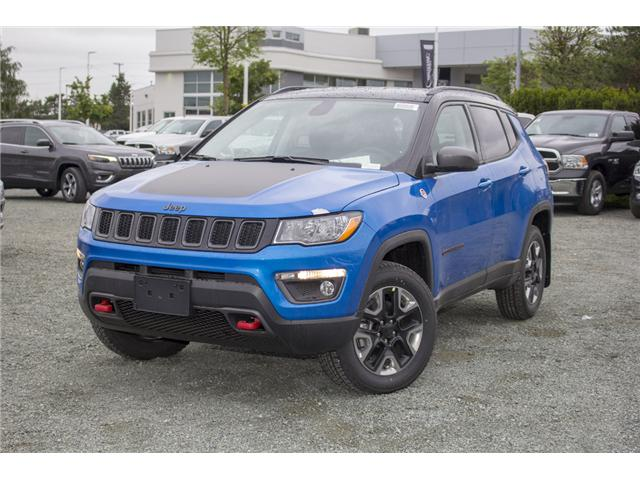 2018 Jeep Compass Trailhawk (Stk: J376603) in Abbotsford - Image 3 of 24
