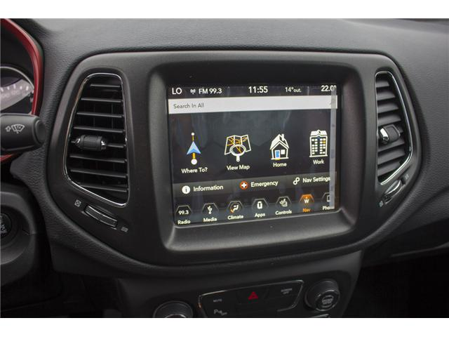 2018 Jeep Compass Trailhawk (Stk: J404095) in Abbotsford - Image 21 of 27