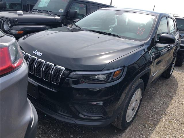 2019 Jeep Cherokee Sport (Stk: KD152870) in Mississauga - Image 1 of 6