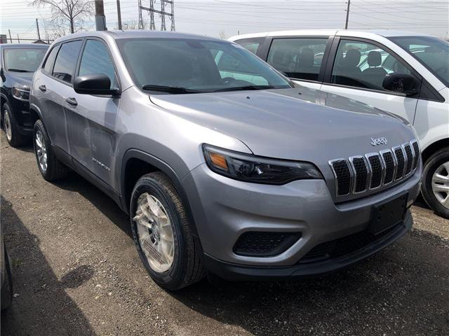 2019 Jeep Cherokee Sport (Stk: KD152871) in Mississauga - Image 2 of 5