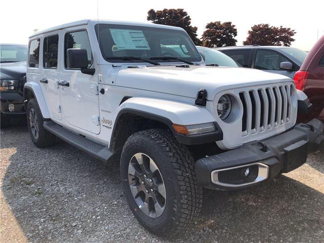 2018 Jeep Wrangler Unlimited Sahara (Stk: JW139202) in Mississauga - Image 2 of 5