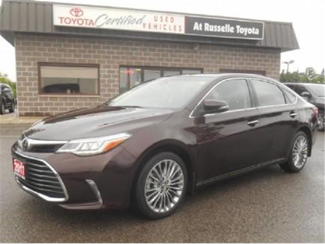 2017 Toyota Avalon Limited (Stk: U7220) in Peterborough - Image 1 of 11