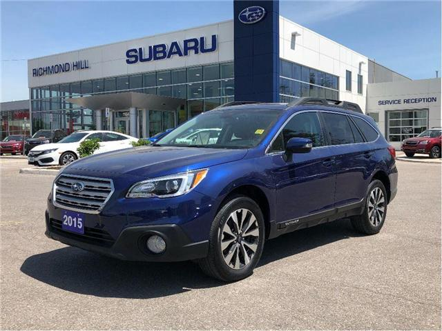 2015 Subaru Outback 2.5i Limited Package (Stk: T30937) in RICHMOND HILL - Image 1 of 19