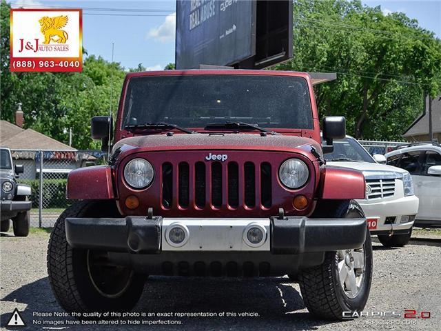 2008 Jeep Wrangler Unlimited Sahara (Stk: J18046) in Brandon - Image 2 of 27