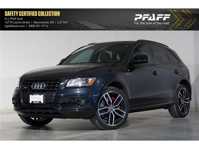2017 Audi SQ5 3.0T Dynamic Edition (Stk: 52860) in Newmarket - Image 1 of 17