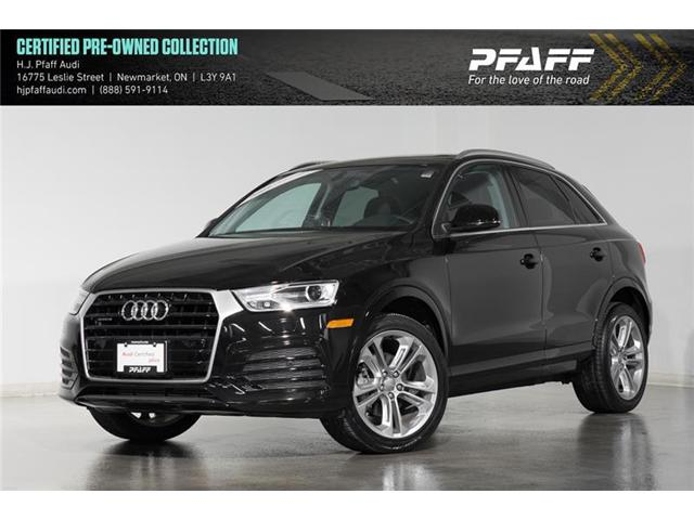 2018 Audi Q3 2.0T Progressiv (Stk: 52878) in Newmarket - Image 1 of 17