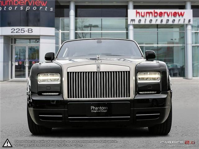 2017 Rolls-Royce Phantom Drophead Coupe One Owner Local Ontario Vehicle (Stk: 17MSX1227) in Mississauga - Image 2 of 28