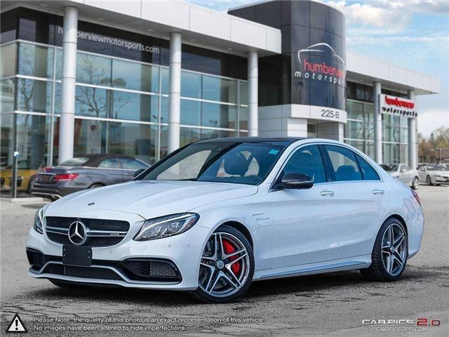 2017 Mercedes-Benz AMG C 63 S (Stk: 18HMS072) in Mississauga - Image 1 of 27