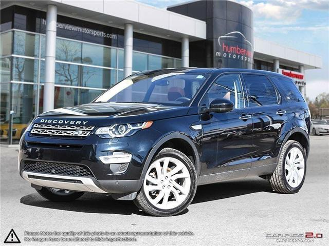 2017 Land Rover Discovery Sport HSE LUXURY (Stk: 18HMS042) in Mississauga - Image 1 of 27