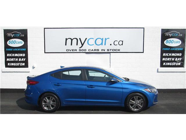 2018 Hyundai Elantra GL (Stk: 180462) in North Bay - Image 1 of 13