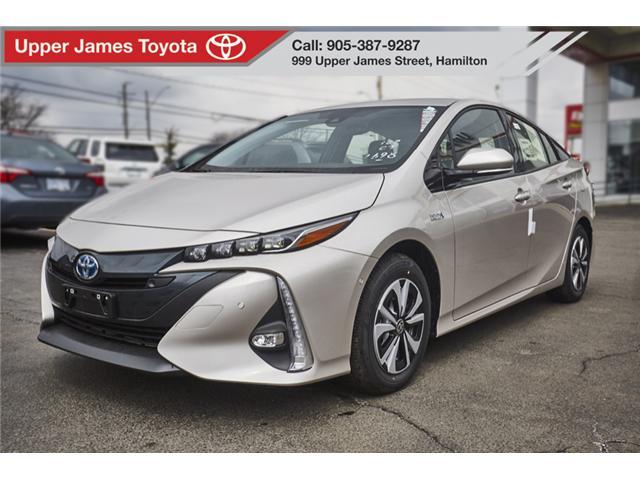 2018 Toyota Prius Prime Upgrade (Stk: 180766) in Hamilton - Image 1 of 17