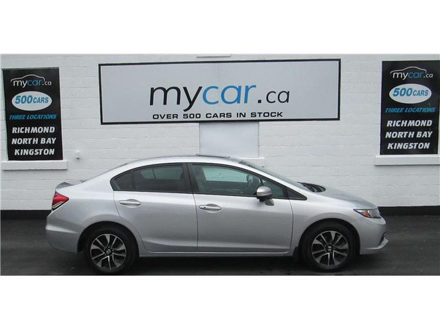 2015 Honda Civic EX (Stk: 180708) in Kingston - Image 1 of 14