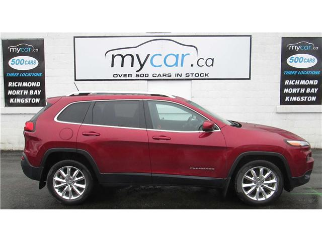 2015 Jeep Cherokee Limited (Stk: 180495) in North Bay - Image 1 of 14
