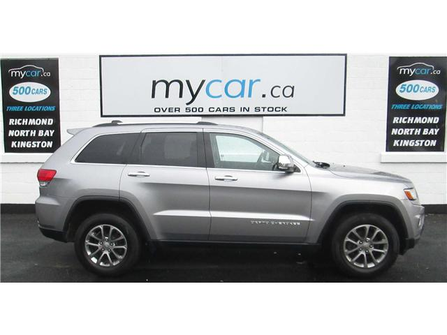 2015 Jeep Grand Cherokee Limited (Stk: 180680) in Kingston - Image 1 of 14