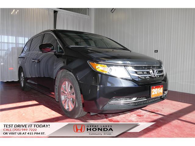 2014 Honda Odyssey EX (Stk: HP509) in Sault Ste. Marie - Image 1 of 25