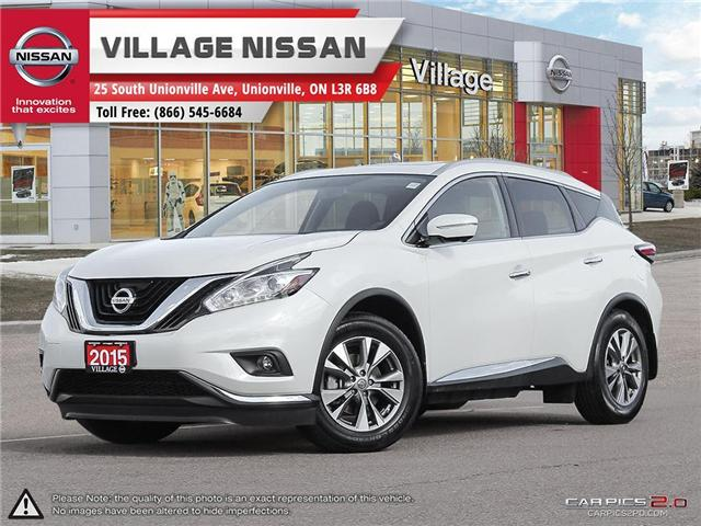 2015 Nissan Murano SL (Stk: ) in Unionville - Image 1 of 25