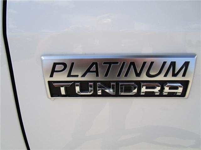 2018 Toyota Tundra Platinum 5.7L V8 (Stk: 189178) in Moose Jaw - Image 2 of 28