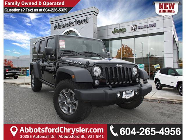 2017 Jeep Wrangler Unlimited Rubicon (Stk: AG0787) in Abbotsford - Image 1 of 25