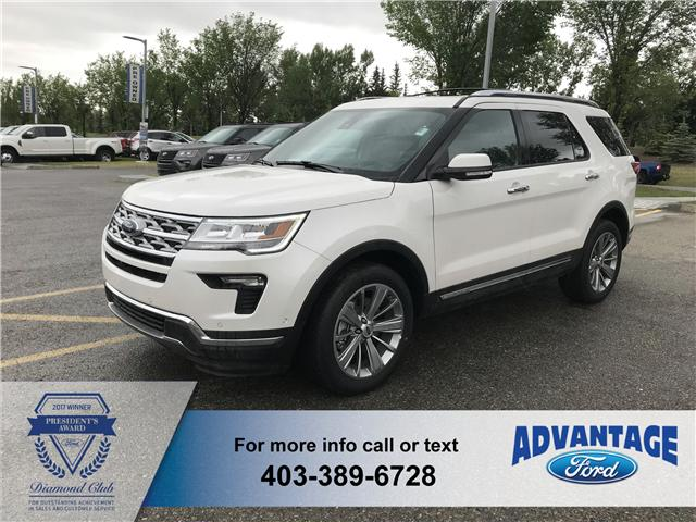 2018 Ford Explorer Limited (Stk: J-160) in Calgary - Image 1 of 6