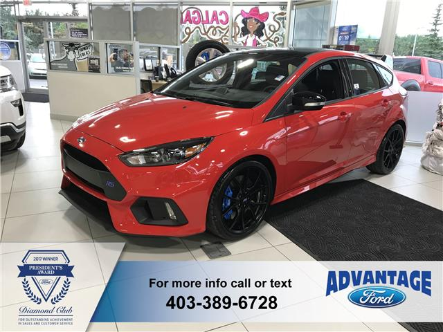 2018 Ford Focus RS Base (Stk: J-602) in Calgary - Image 1 of 6