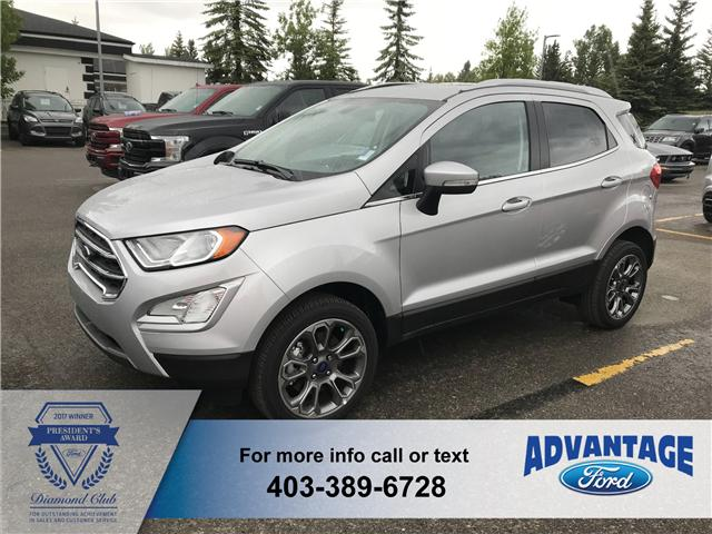 2018 Ford EcoSport Titanium (Stk: J-1517) in Calgary - Image 1 of 5