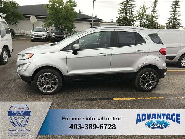 2018 Ford EcoSport Titanium (Stk: J-1517) in Calgary - Image 2 of 5