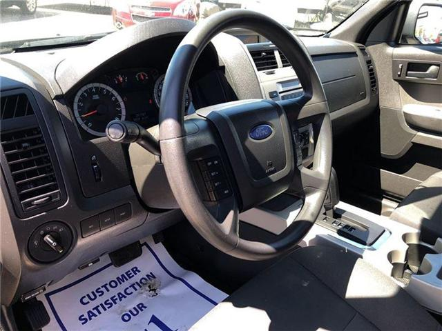 2012 Ford Escape XLT- CERTIFIED PRE-OWNED-1 OWNER TRADE (Stk: 552016A) in Markham - Image 10 of 21