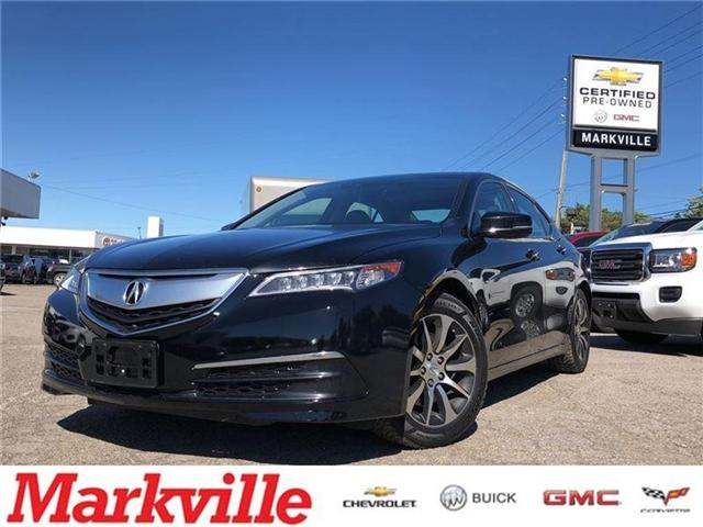 2015 Acura TLX TECH PKG-CERTIFIED PRE-OWNED-2 SETS TIRES-1 OWNER (Stk: 395023A) in Markham - Image 1 of 23