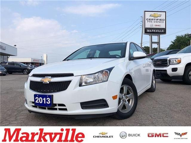 2013 Chevrolet Cruze 2LT-LEATHER-ROOF-GM CERTIFIED PRE-OWNED-1 OWNER (Stk: 107103A) in Markham - Image 1 of 21