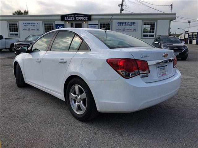 2013 Chevrolet Cruze 2LT-LEATHER-ROOF-GM CERTIFIED PRE-OWNED-1 OWNER (Stk: 107103A) in Markham - Image 2 of 21