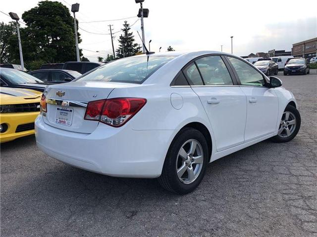 2013 Chevrolet Cruze 2LT-LEATHER-ROOF-GM CERTIFIED PRE-OWNED-1 OWNER (Stk: 107103A) in Markham - Image 4 of 21