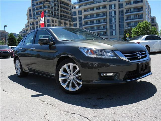 2015 Honda Accord Touring V6 (Stk: 180962P) in Richmond Hill - Image 1 of 17