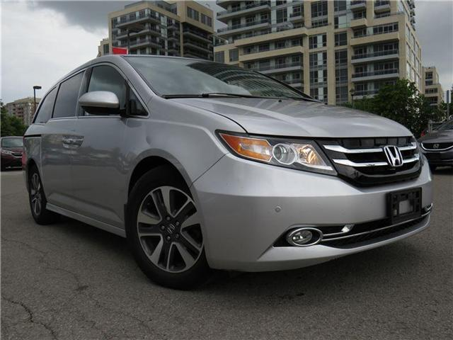 2014 Honda Odyssey Touring (Stk: 181042P) in Richmond Hill - Image 1 of 14