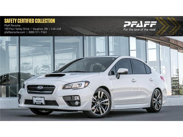 2017 Subaru WRX 4Dr CVT (Stk: U7172) in Vaughan - Image 1 of 22