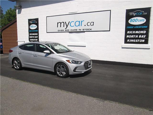 2018 Hyundai Elantra GLS (Stk: 180758) in North Bay - Image 2 of 13