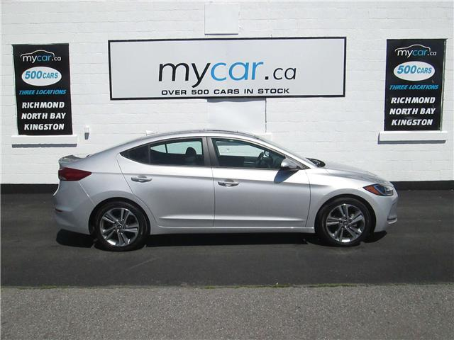 2018 Hyundai Elantra GLS (Stk: 180758) in North Bay - Image 1 of 13
