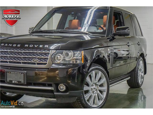 2011 Land Rover Range Rover Supercharged (Stk: ) in Oakville - Image 1 of 40