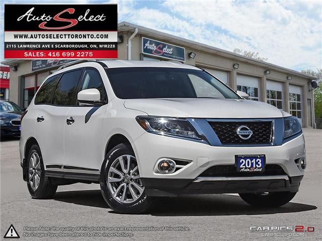 2013 Nissan Pathfinder AWD (Stk: 13NW917) in Scarborough - Image 1 of 28