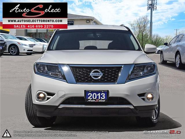 2013 Nissan Pathfinder AWD (Stk: 13NW917) in Scarborough - Image 2 of 28