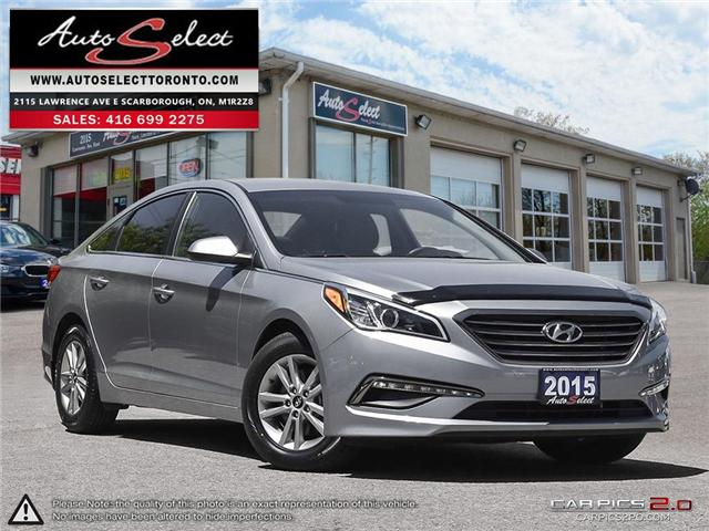 2015 Hyundai Sonata  (Stk: 1HY1G23) in Scarborough - Image 1 of 27