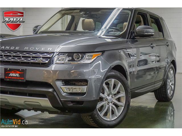 2016 Land Rover Range Rover Sport DIESEL Td6 HSE (Stk: ) in Oakville - Image 1 of 40